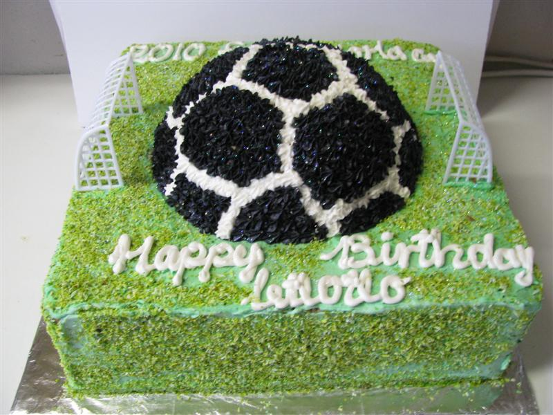 Excellent Bdc026 Soccer Field Cake Cakes For Africa Funny Birthday Cards Online Aboleapandamsfinfo