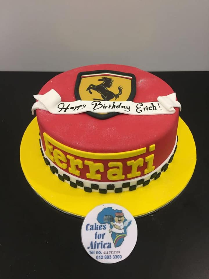 Strange Bdc212N Ferrari Cakes For Africa Funny Birthday Cards Online Ioscodamsfinfo
